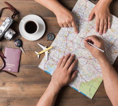 Itinéraires à la carte