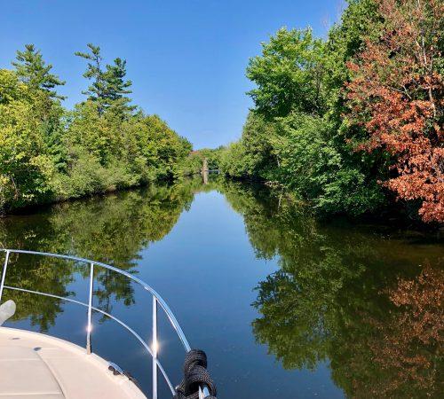 Location de bateau sur le Canal Rideau